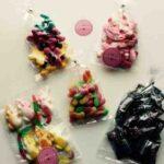 Box à bonbons d'antan
